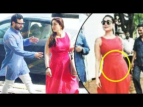 Kareena Kapoor Looks GORGEOUS With Her Baby Bump & Saif Ali Khan