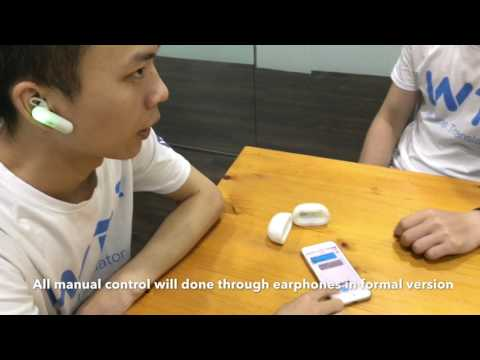 WT2 Real-time Translating Earphone  demo (2017.5)