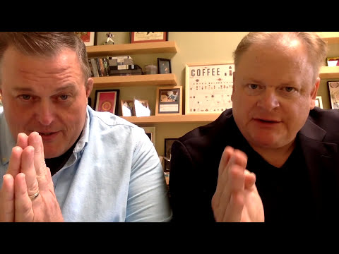 """Billy Gardell """"stole"""" Larry's Acting Career! An Actor Prepares #10"""
