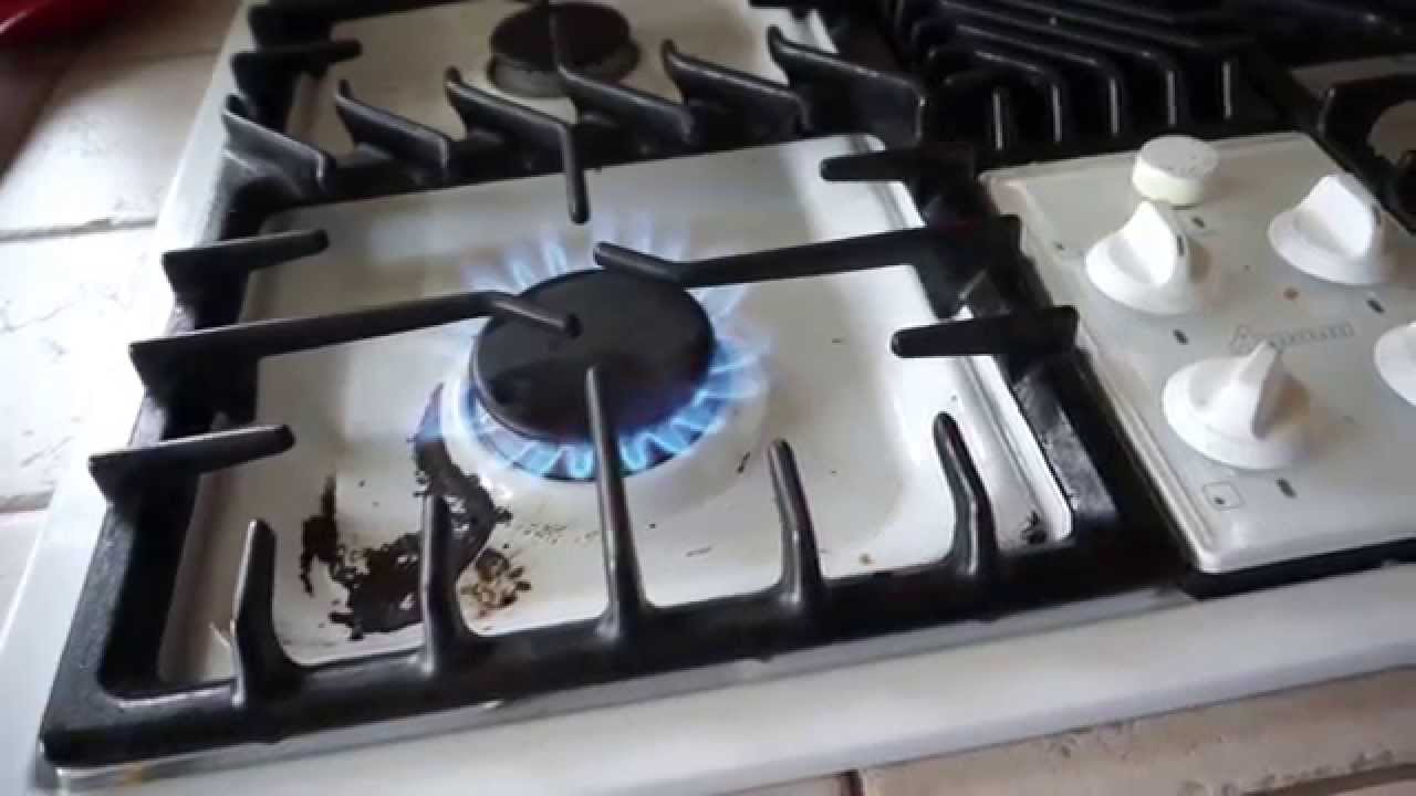 Using The Gas Stove In The Kitchen   YouTube