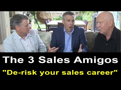 """How to de-risk your sales career"" "" - Hughes, McLoughlin & Smibert  (TALKING SALES 250)"