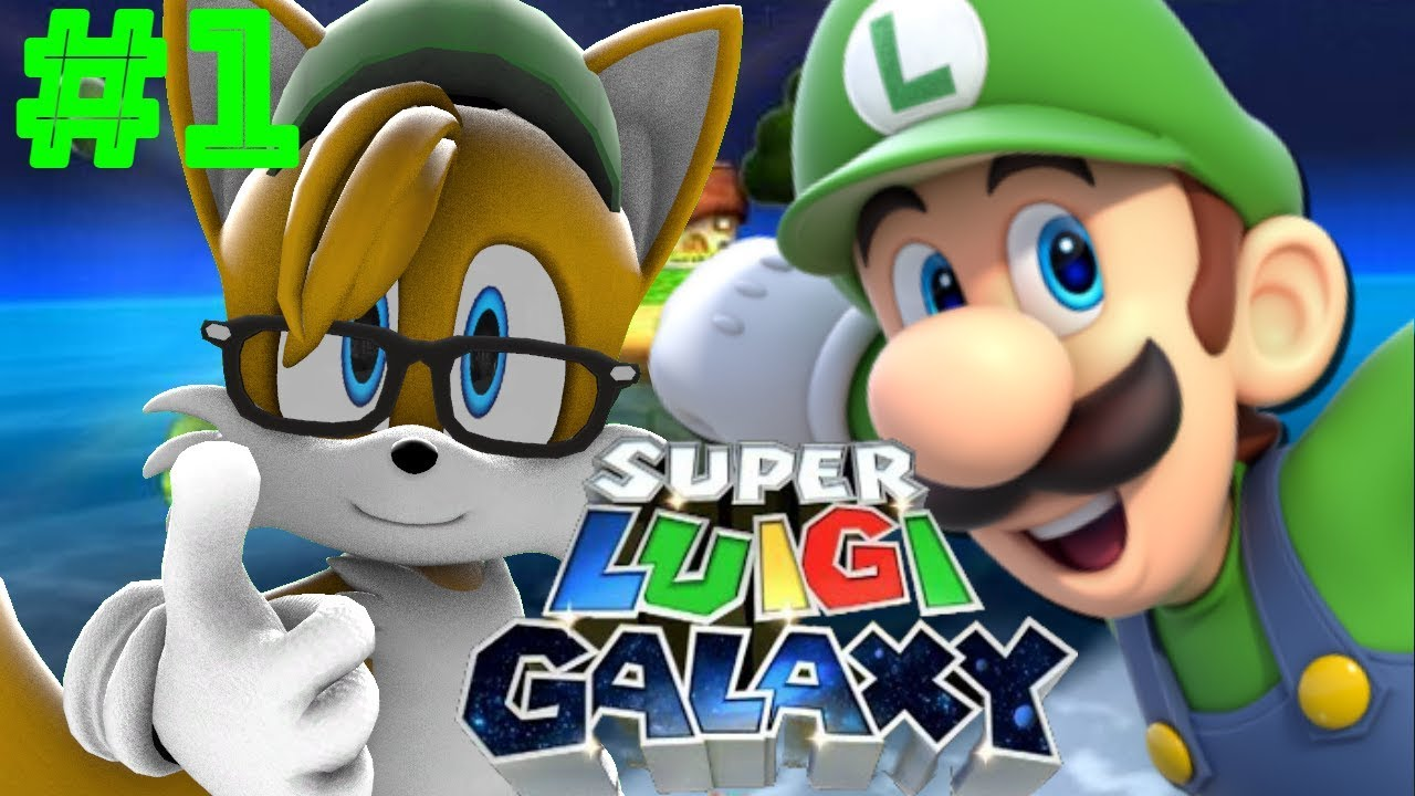 Super Luigi Galaxy Walkthrough Part 1    Beginning and Good Egg Galaxy!
