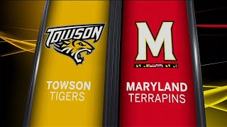 Towson at Maryland - Football Highlights