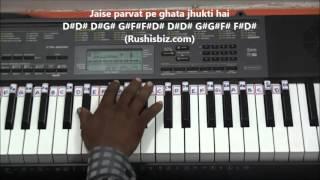 Dil Kya Kare Jab Kisi Se (PIANO TUTORIALS) - Julie