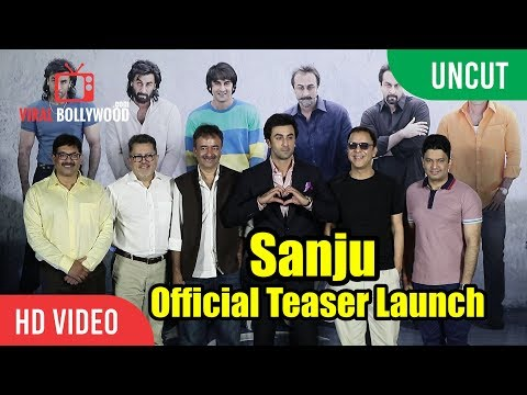 UNCUT - Sanju Official Teaser Launch |...