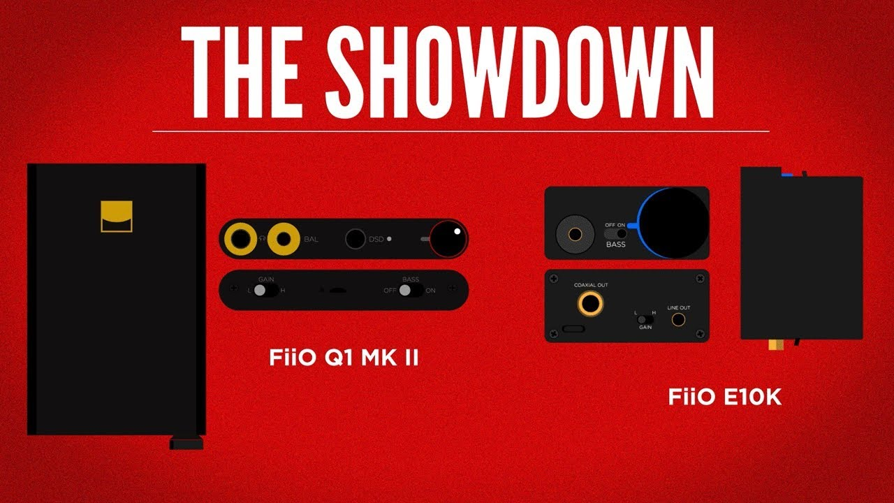 The Ultimate Guide] – FiiO Q1 vs  E10K vs  DragonFly Red - Home