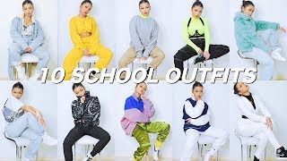 10 OUTFIT IDEAS FOR SCHOOL | Koleen Diaz