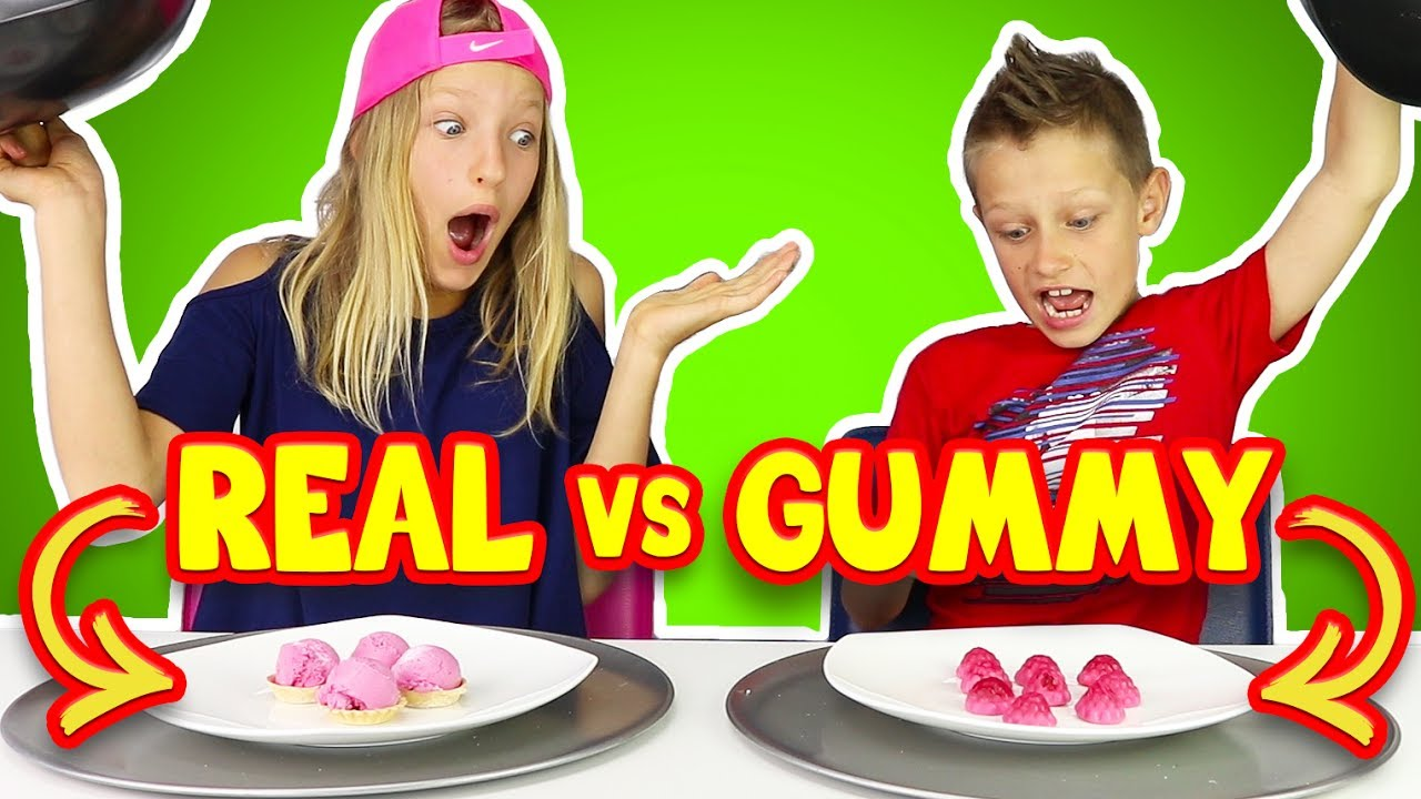 Gummy Vs Real Food 5 Youtube