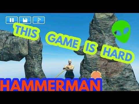 HAMMERMAN ANDROID GAME   GETTING OVER IT FOR ANDROID   HAMMERMAN DOWNLOAD LINK [DIRECT LINK]