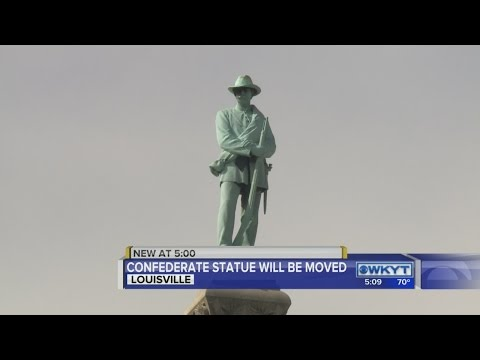 University of Louisville to remove Confederate monument