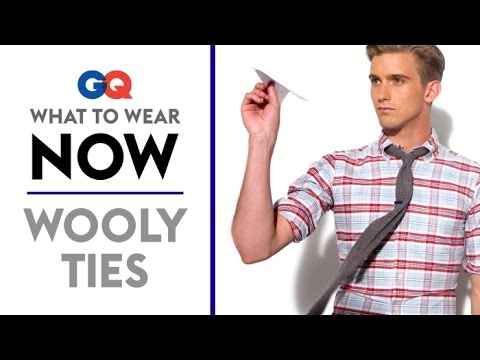 How to Wear a Wool Tie – What to Wear Now | Style Guide | GQ