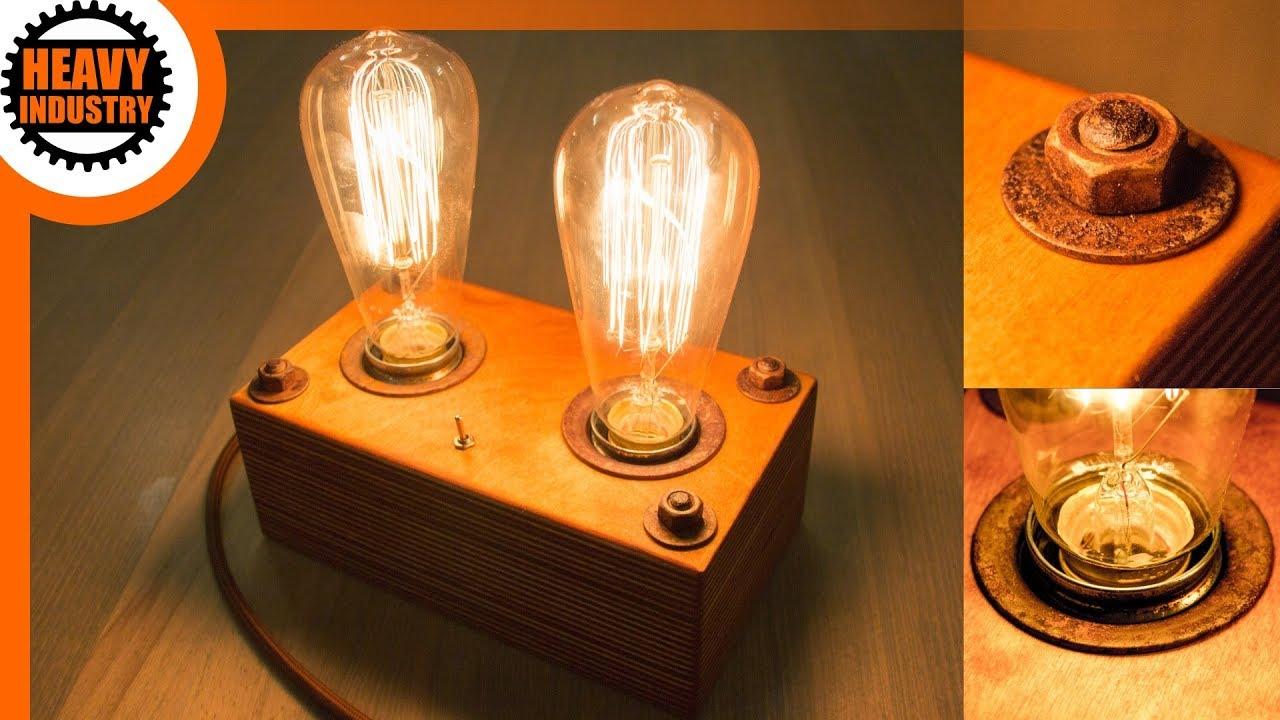Mehr Retro Geht Nicht Retro Edison Lampe Selber Bauen Extra