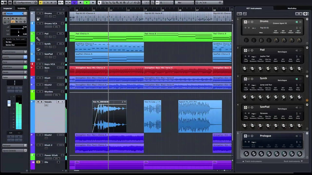Cubase Pro 8 and Cubase Artist 8 - Steinberg - YouTube