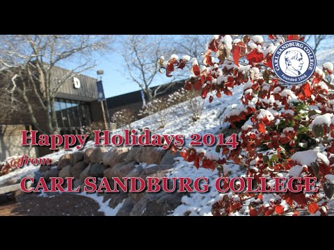 Carl Sandburg College 2014 Holiday Greeting