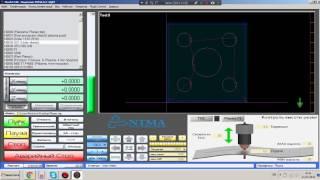 LibreCAD + SheetCAM + Mach3 (NT-Plasma 3015). Урок 3-1