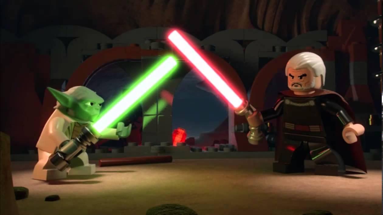 yoda vs dooku lego star wars episode 11 part 1 youtube - Lego Yoda