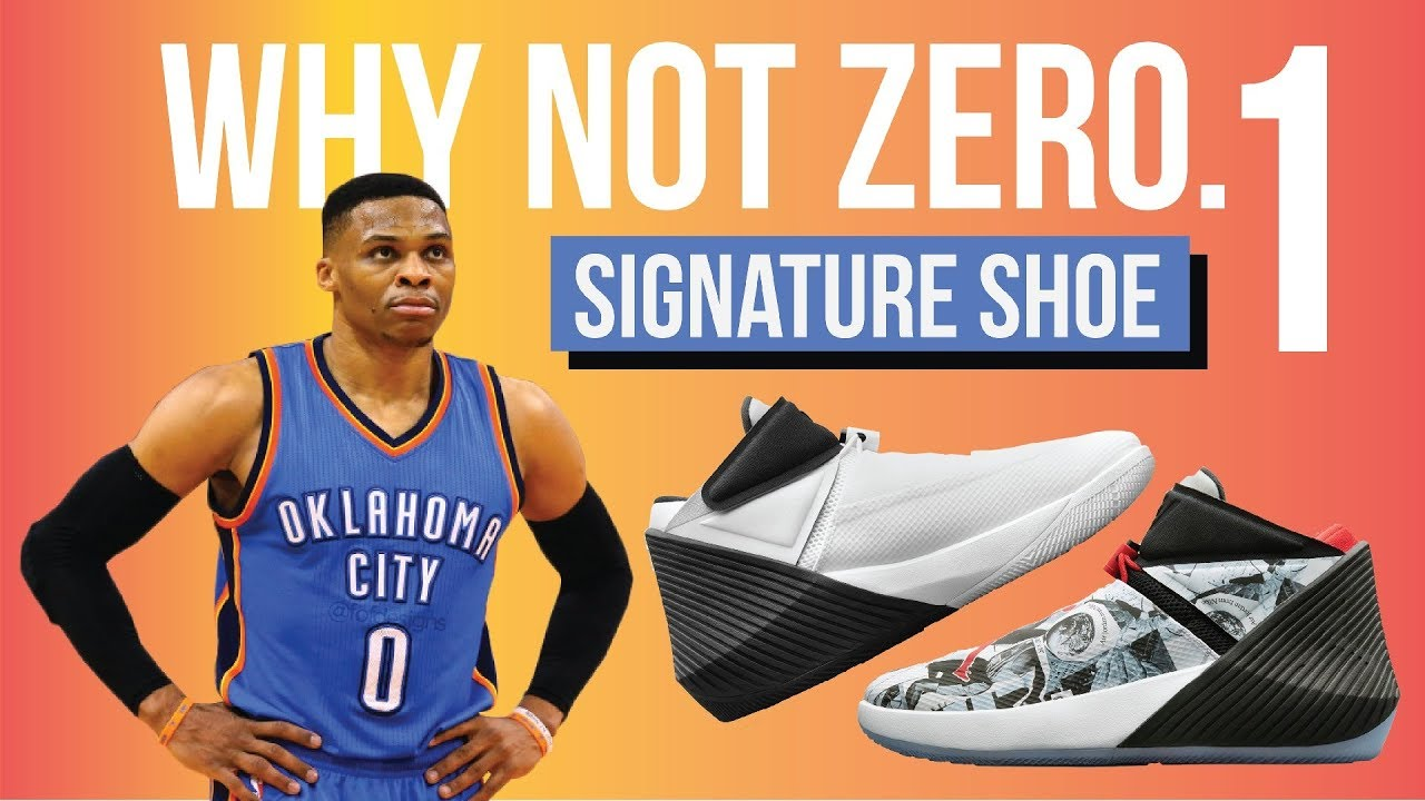 Jordan Why Not Zer0. 1 - RUSSELL WESTBROOK SIGNATURE SHOE! - YouTube 458a62264