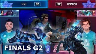 Bwipo Hecarim vs Uzi Varus - Game 2 | 1vs1 Finals 2019 All-Star Las Vegas | LEC vs LPL