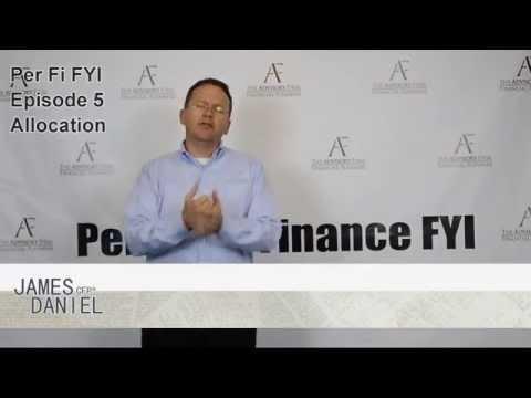 Personal Finance FYI – Episode 5 : Asset Allocation
