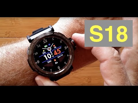 SENBONO S18 IP68 Waterproof Multi-Function Blood Pressure Sports Smartwatch: Unboxing And 1st Look