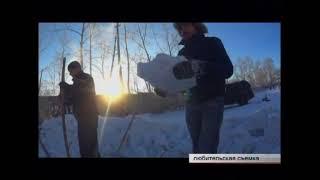 От чистого сердца  Волонтеры построили снежную горку во дворе коррекционной школы №27