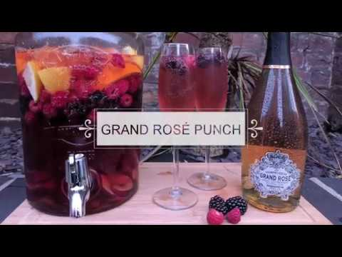 How To Make A FANTASTIC 'Pink Prosecco' Punch