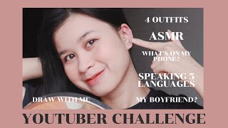 YOUTUBER CHALLENGE LÀM TẤT CẢ CÁC VIDEO ĐƯỢC YÊU CẦU TRONG 1 VIDEO by my20s Thạch Trang   sullicious