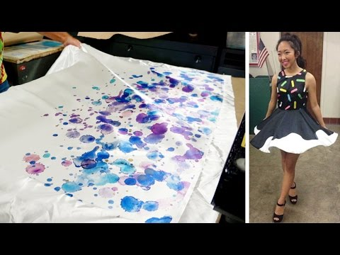 How to print fabric using Sublimation! :)