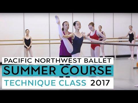Ballet Technique Class Level VI - PNB's Summer Course 2017
