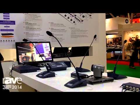 ISE 2014: Zavtel Introduces New Zenator Line of Conference Microphones