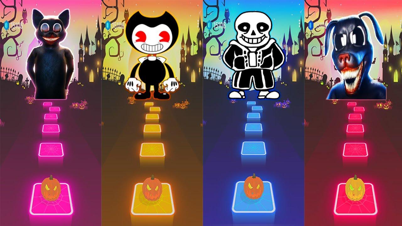 Download Cartoon Cat Run Away VS Bendy Ink Machine Build our Machine VS Megalovania VS Cartoon Dog Nightmares