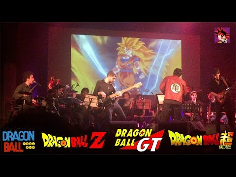 🔴 TODA LA MUSICA DE DRAGON BALL, Z, SUPER, GT EN VIVO | ORQUESTA | POWER UP