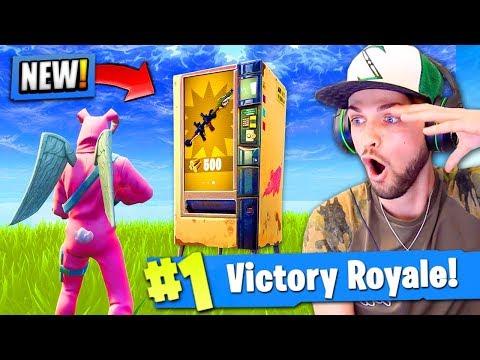 *NEW* LEGENDARY Vending Machine LOCATIONS in Fortnite: Battle Royale!