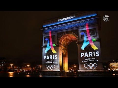 Париж представил логотип Олимпиады-2024 (новости)