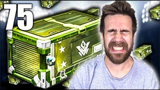 75 NEW Vindicator Rocket League Crate Opening!