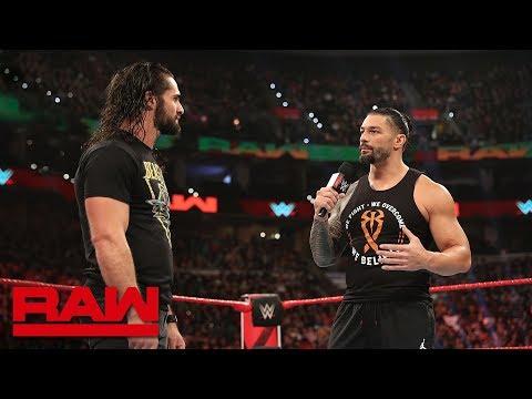 Roman Reigns wants a Shield reunion: Raw, March 4, 2019