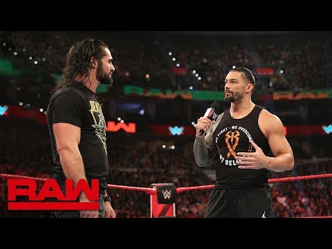 Roman Reigns wants a Shield reunion: Raw, March 4, 2019