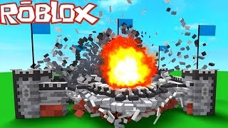 ON DO ALL EXPLOSER IN ROBLOX DESTRUCTION SIMULATOR