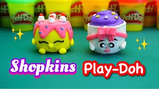 How to make super easy and cute Shopkins  Play-Doh