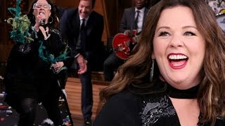 melissa mccarthy performs pocahontas colors of the wind in lip sync battle