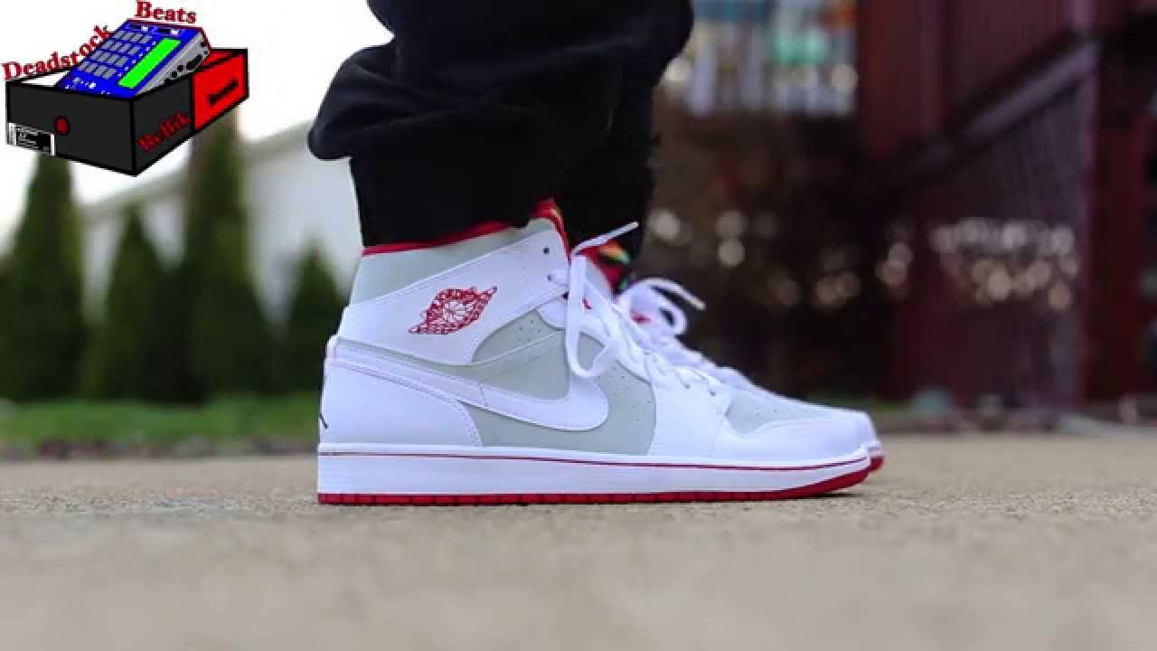 "hot products cheapest price really cheap Air Jordan 1 Mid ""Hare"" On Feet"