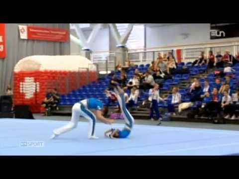 Acro Gymnastique World Cup Geneve (RTS Sport Dimanche 17 mai 2015)