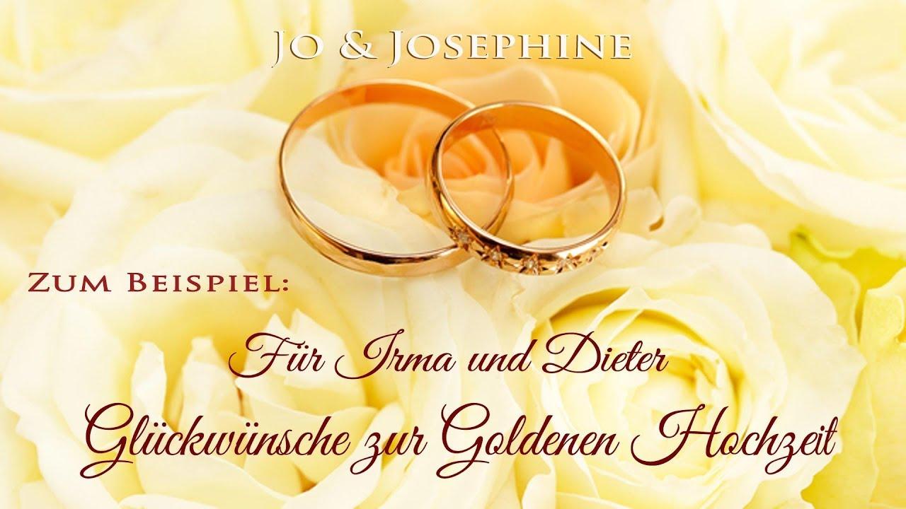 Personalisierte Lied Zur Goldenen Hochzeit