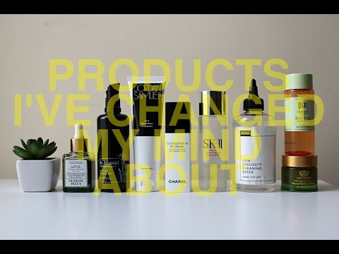 Products I've Changed My Mind About | TophCam