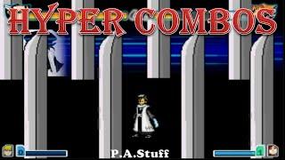 Byakuya Kuchiki (Bankai) Hyper Combos Ft. DEAF KEV - Bleach vs Naruto 2.3