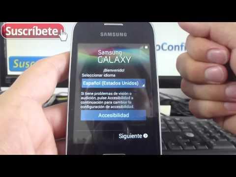 Samsung Galaxy Pocket 2 Primer Encendido