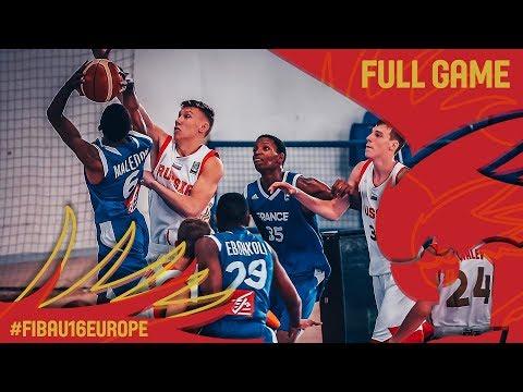 Russia v France - Full Game - FIBA U16 European Championship 2017