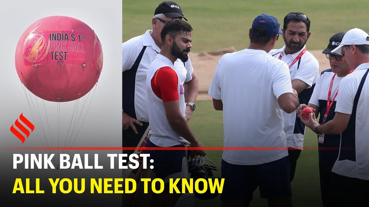 Pink Ball Test India And Bangladesh Lock Horns In Maiden D N Test At Eden Gardens Youtube