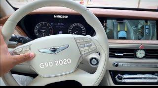 تجربة جينسس G90 2020 محرك V6 توين تيربو و V8 ٤١٣ حصان الجزء 2