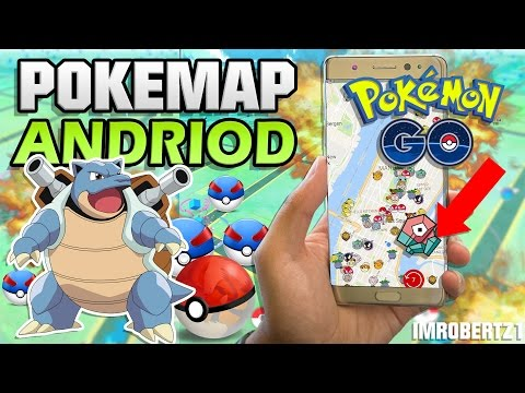 Pokémon Go POKEMAP! RARE Pokémon! NO ROOT! Android App Hack! Locate